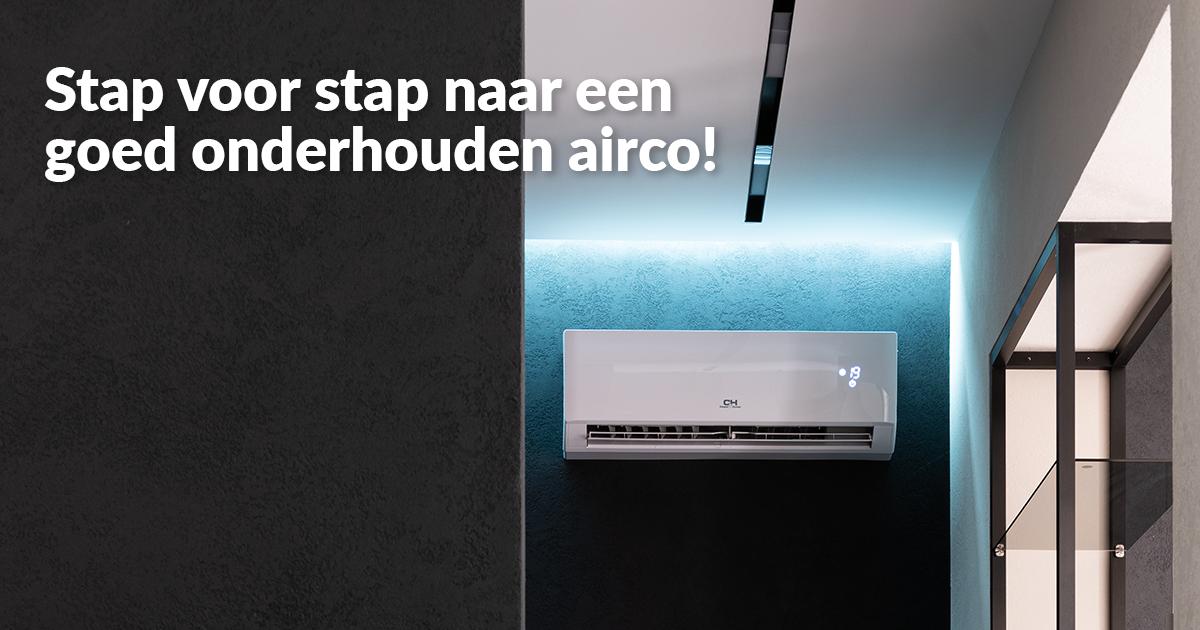 Blijf je airco regelmatig onderhouden!