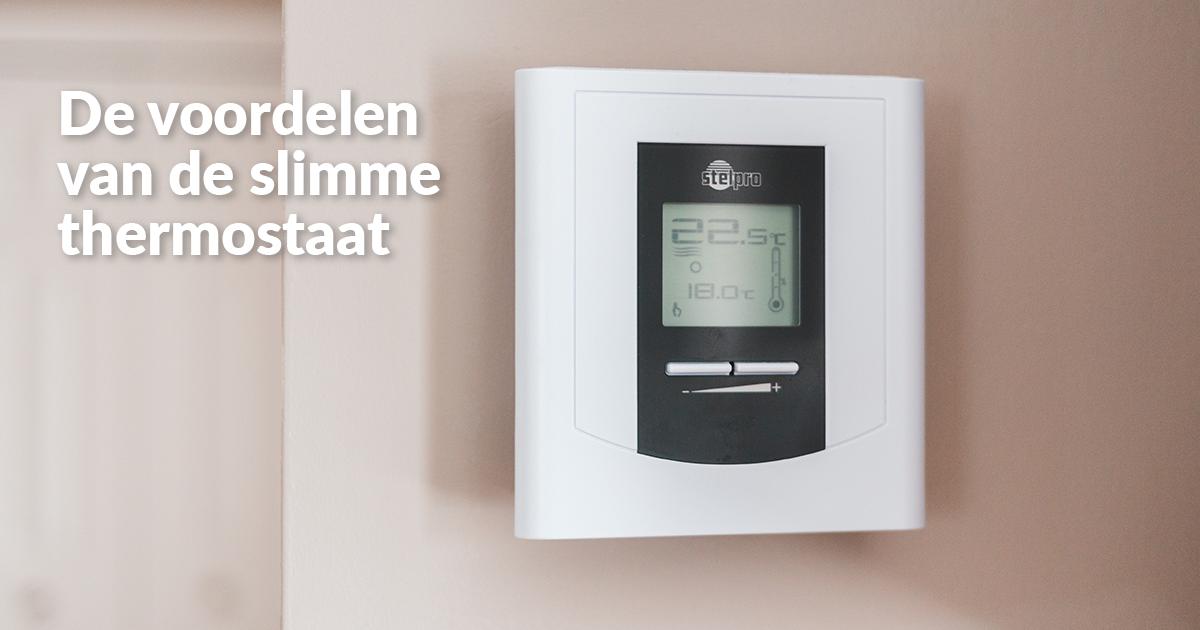 Kies voor de slimme thermostaat!